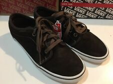 f778f8c6f69 VANS 106 Vulcanized Suede Demitasse Dark Earth Men s Shoe Size 6.5