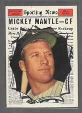 1961 Topps Baseball #578 Mickey Mantle A.S. EX-MT+  LS1204