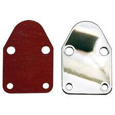 Fuel Pump Block Off Plate Small Block Chevy Chevrolet SBC SB 350 327 283 305 307