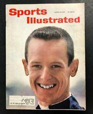 1961 AUG 28  SPORTS ILLUSTRATED MAGAZINE  AUTO RACING/CRICKET  CS5