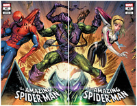 AMAZING SPIDER-MAN #47 TYLER KIRKHAM EXCLUSIVE VARIANT CONNECTING SET