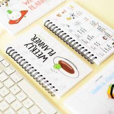 Random Sent Cute Sketchbook Exercisebook Weekly Planner Notebook Notepad