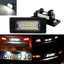 2LED License Plate Number Lights 24SMD Fit For BMW E90 E92 E70 E39 F30 E60 E61
