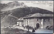 1910 - Sondrio - BORMIO - Passo dello Stelvio - IV Cantoniera e Dogana