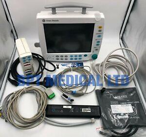 GE Patient Monitor S/5 FM ECG NIBP SPO2 Temp Module Battery F-FM-00 Datex Ohmeda