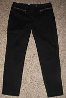 EUC Wmns Sz 8 Black Michael Kors Stretch Cropped Pants