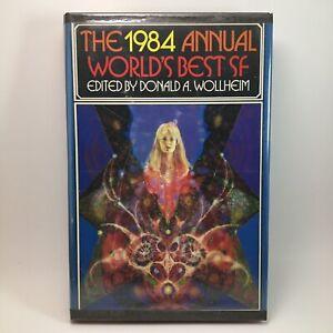 The 1984 Annual Worlds Best SF Edited Donald Wollheim BCE Hardback Book Rare Vtg