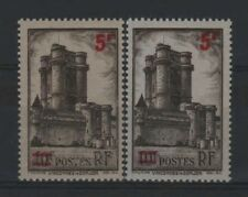 """FRANCE STAMP TIMBRE 491 """" VINCENNES 5F S.10F VARIETE COULEUR """"NEUFS xx LUXE R327"""