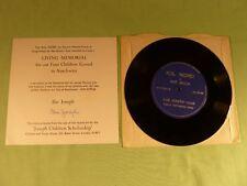 Kol Nidrei Max Bruch Ilse Joseph Violin Living Memorial To her Children Signed