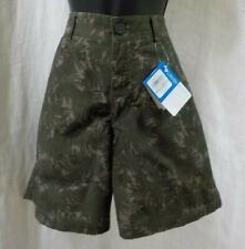 """Columbia Men Camouflage Shorts Size 32 NWT 100% Cotton Flat Front Pockets Ins 8"""""""