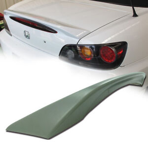Unpainted Fit For Honda S2000 OE Type ABS Rear Trunk Spoiler Wing 00-09