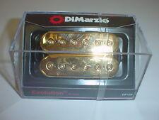 Dimarzio DP159 Evolution Bridge Humbucker Guitar Pickup - GOLD TOP REG SPACING