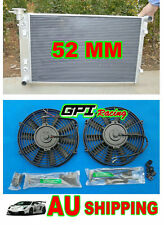 NEW Aluminum Radiator +FAN Holden Commodore VY V6 6cyl 03 04 2002 2003 2004 MT