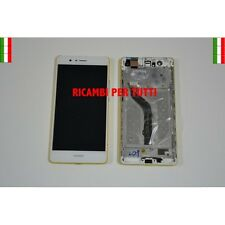 Touch Screen Display Lcd Con Frame Bianco Per Huawei P9 Lite VNS-L21 L22 L23 L31