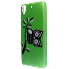 For HTC Desire 626 / 626S Case - Green Owl Hard Phone Slim Protective Thin Cover