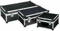 Custodia in alluminio Scatola in alluminio Cassetta degli attrezzi Nera