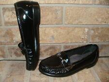 New SAS Metro Black Patent Leather Loafer 6.5 M /Tripad Comfort USA