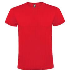 Camiseta Camisetas blanca o color Roly 100% algodon lisa hombre adulto niño