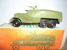 Vintage RUSSIAN USSR Diecast military vehicles, tanks, BTR 40 WITH BOX