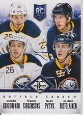 2012-13 Limited Rookie Redemption Sabres #3 Grigorenko/Pysyk/Girgensons /499