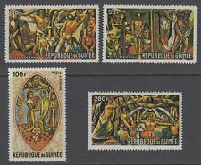 Guinea Guinée 1967 ** Mi.457/60 Gemälde Paintings Zanetti UNO New York [sq5040]