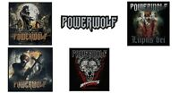 Powerwolf Sew/iron On Patch/Patches NEW OFFICIAL. Choice of 5 designs