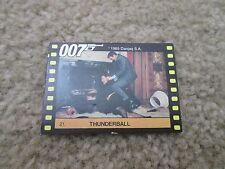 1965 Danjag S.A. 007 Card