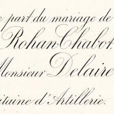 Louise De Rohan-Chabot Paris 1886 Delaire De Cambaceres