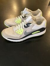 Nike Air Zoom 90 It Mens Spikeless Golf Shoes White Gray Volt Size 11.5