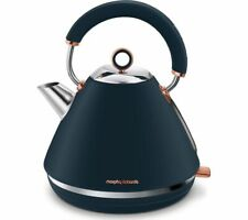 MORPHY RICHARDS Rose Gold Collection Accents 102039 Traditional Kettle - Blue