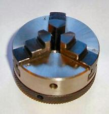 Petit 50 Mm 3 Mâchoire Auto Centrage Mandrin 12 x 1 mm filetage Horlogerie Outil...
