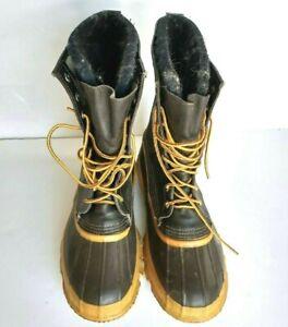 La Crosse Rain Boot Men's Size 10 Steel Shank Insulated PAC