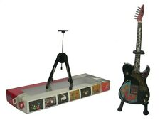 NEW High Quality Miniature Guitar and stand - Telecaster Rick Nielsen Electric