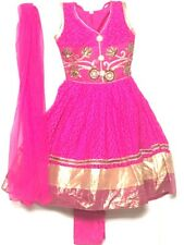 "24"" Anarkali Salwar Kameez for girls age 3to 4 years Chudithar Bollywood Party"
