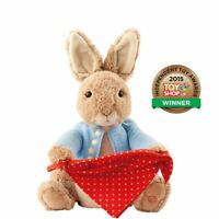 Beatrix Potter Peter Rabbit Peek-A-Boo Interactive Soft Plush Toy - Boxed