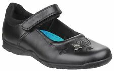 Hush Puppies Black Clare Back To School Shoes