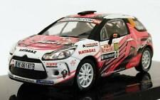 Citroën DS3 R3 #100 Rally Monte Carlo IRC 2011 - 1:43 - IXO Models