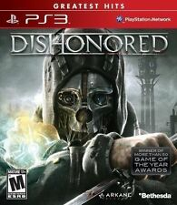 Dishonored -- Greatest Hits (Sony PlayStation 3, 2012)VG