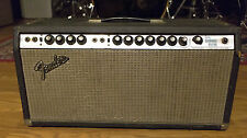 1975 Fender Dual Showman Reverb Guitar Amplifier Amp Head | Vintage