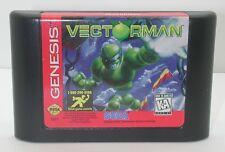Sega Genesis Vectorman Game Cartridge, Works R13618