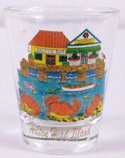 "Hilton Head Island Crab Seaside Restaurant 2.25"" Collectible Shot Glass"