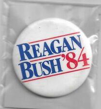 REAGAN-BUSH '84  PINBACK BUTTON
