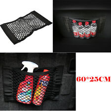 80*25CM Car Auto Bag Interior Organizer Rear Seat Storage Mesh Cargo Net Pocket