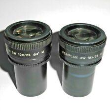 Mikroskop Leitz (519894) Okular-Paar Periplan GW 10x/ 26 M Brillenträgergeeignet