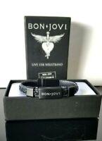 Rare Bon Jovi This House Is Not For Sale Tour Live USB Wristband 2017