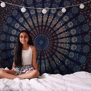 Hippie Indian Tapestry Mandala Beach Throw Wall Hanging Bohemian Decor Bedspread