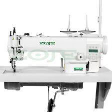 ZOJE machine à coudre industrielle - double entrainement par griffes - NEUF!