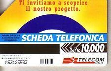 Telefonkarte Italien gut erhalten + unbeschädigt (intern: 2288 )
