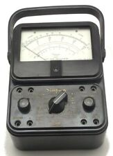 Vintage Simpson 260 Series 5 Volt Ohm Milliammeter In Leather Case Made Usa Used