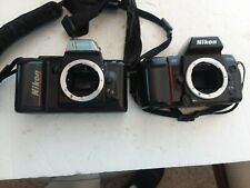 2 Nikon Camera Bodies Untested . As Is